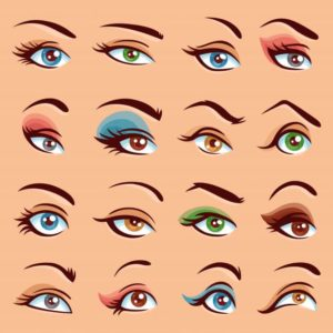 WHICH EYEBROWS SUITS YOUR FACE?